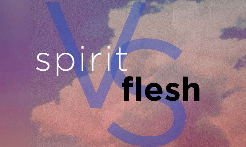 Ministering To The Lord and Spirit Vs. Flesh