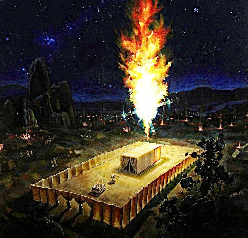 Day & Night In His Temple, God Spreads His Tabernacle Over Us
