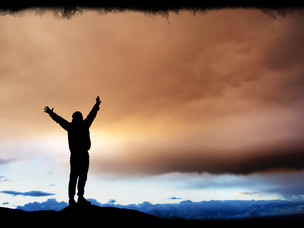 Let God Raise You Up In His Presence Today