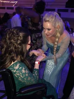 Princess Elsa was perfect!
