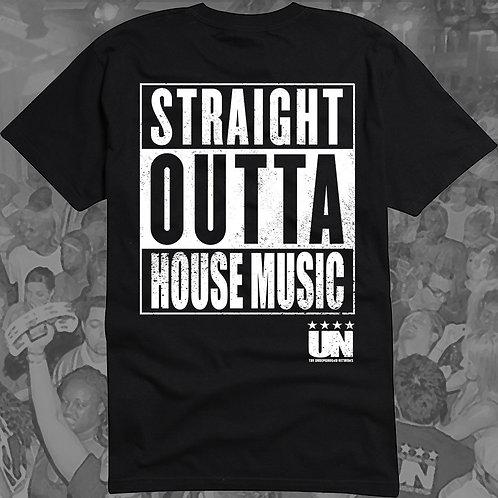 Straight Outta House Music T-Shirt