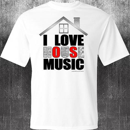 I Love House Music Underground Network style