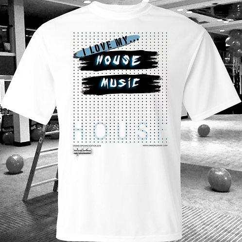 I Love My House Music T-Shirt