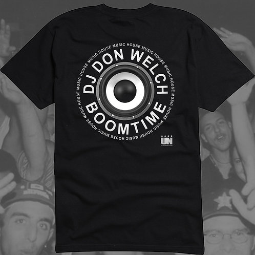 Underground Network DJ Don Welch BoomTime T-Shirt