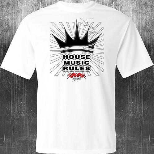 Underground Network House Music Rules T-Shirt