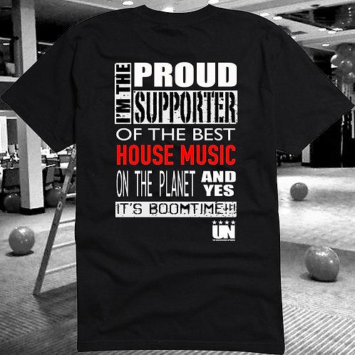 Support House Music Underground Network Style