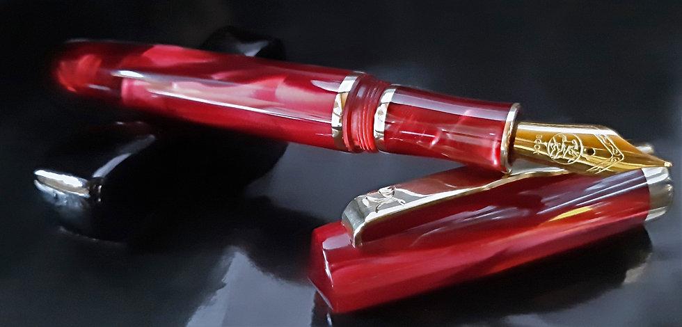 "Custom Pens - KLEMR93FP - ""Mysterious Ruby"""