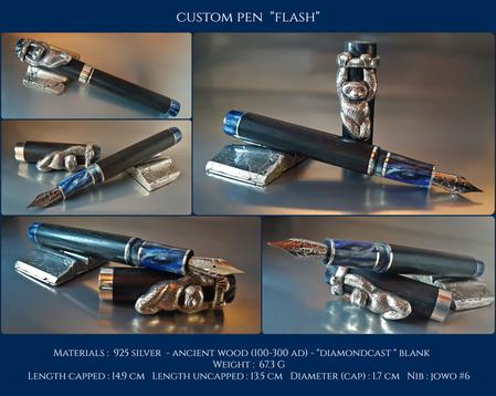 "Custom Pen ""Flash"""