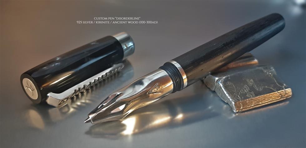 """Custom Pen """"Disorderline"""""""