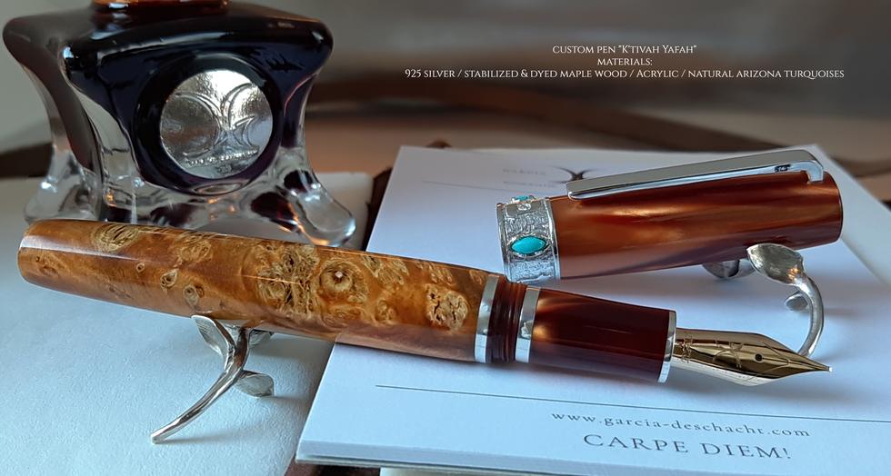 Custom Pen Ktivah Yafah II - Garcia Desc