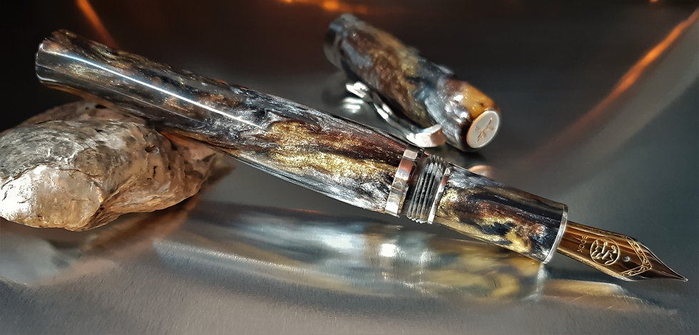 "Custom Pens - ""Diamond Collection"" - KLEDCC95FP - ""Supernova"""
