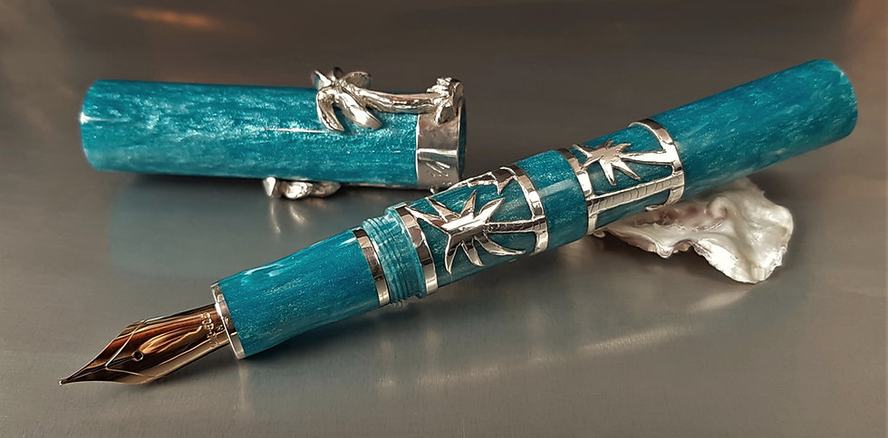 "Custom Pens - ""Diamond Collection"" - KLEDCC109FP - ""Nomad"""