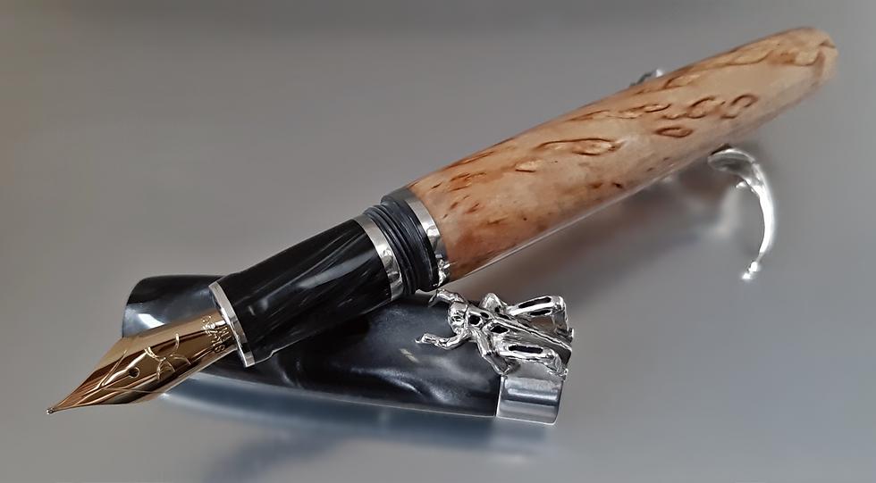 """Custom Pens - """"Wood is Good"""" - KLEWGO131FP - """"Oracle"""""""