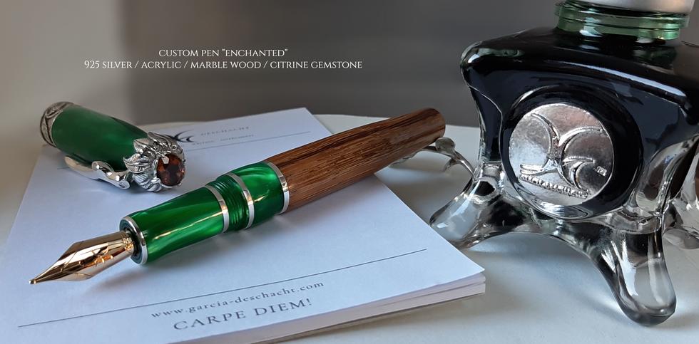 Custom Pen Enchanted for Kelly Mink- Gar