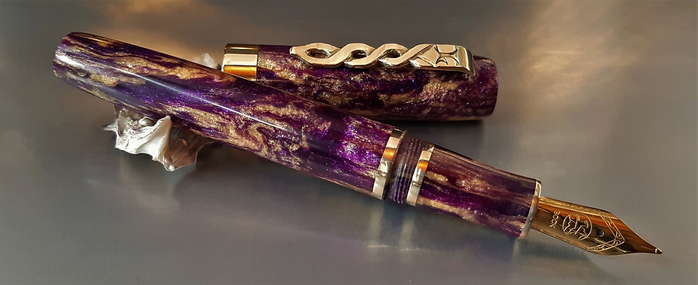 "Custom Pens - ""Diamond Collection"" - KLEDCC108FP - ""Merlin"""