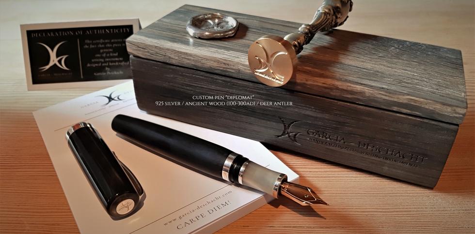 """Custom Pen """"Diplomat"""""""