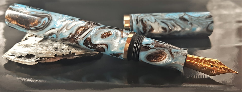 "Custom Pens - ""Limited Edition Blanks"" - KLELEB79FP - ""Cosmic Angel'"""