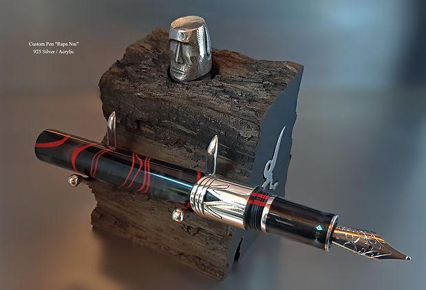 Custom Pen _Rapa Nui_