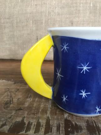 Cresent Moon Handle Mug