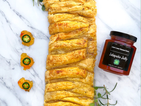 Quick and Easy Sweet and Savoury Jam/Jelly Braids!