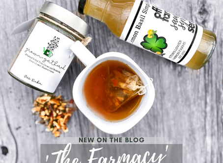 The 'Farmacy' a Lower Shannon Farm-to-Table version of the popular Starbucks 'Medicine Ball' drink