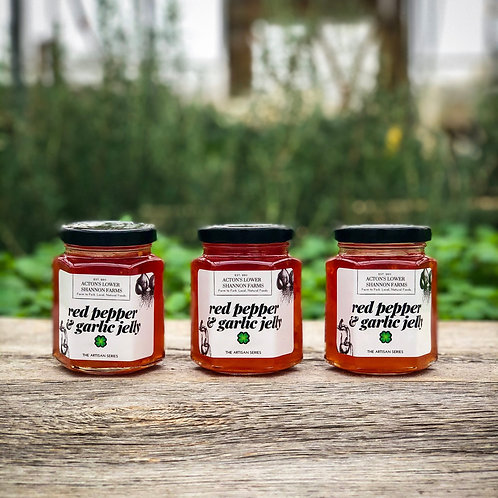 Red Pepper and Garlic Jelly