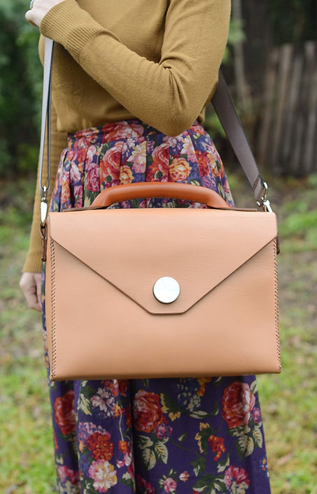 Custom Leatherwork Briefcase