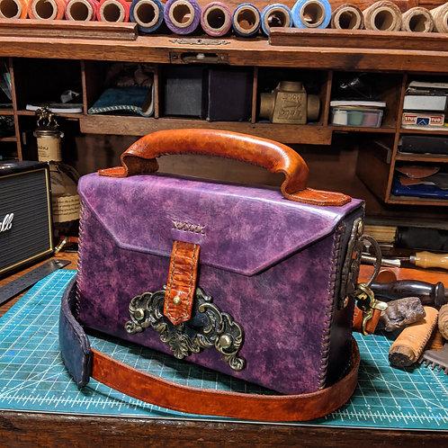Topshelf Purse in Deep Violet/Purple