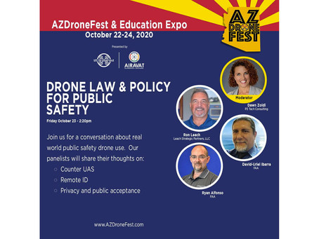 The Arizona DroneFest & Educational Expo October 22-24, 2020!