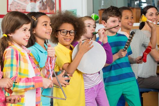 Group Music Classes for Children