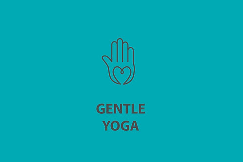 Gentle Yoga - Virtual Class