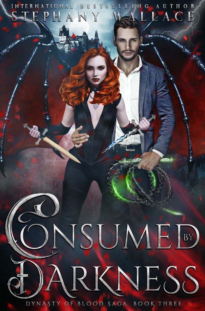 Consumed by Darkness, Dynasty of Blood Saga Book 3