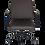 Thumbnail: Poltrona giratória com dimensões avantajadas suporta com equilíbrio conforto e e