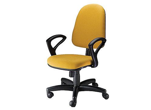 Cadeira diretor com braços fixos