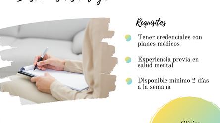 Oportunidad para Psicólogo/a Clínico/a