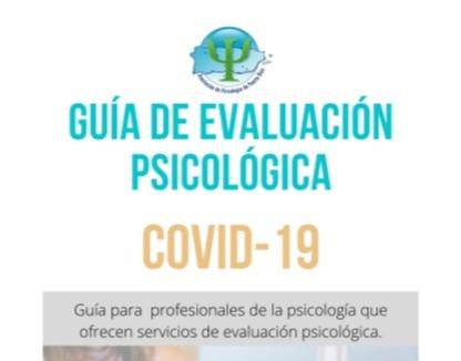 Guía de Evaluación Psicológica Covid-19
