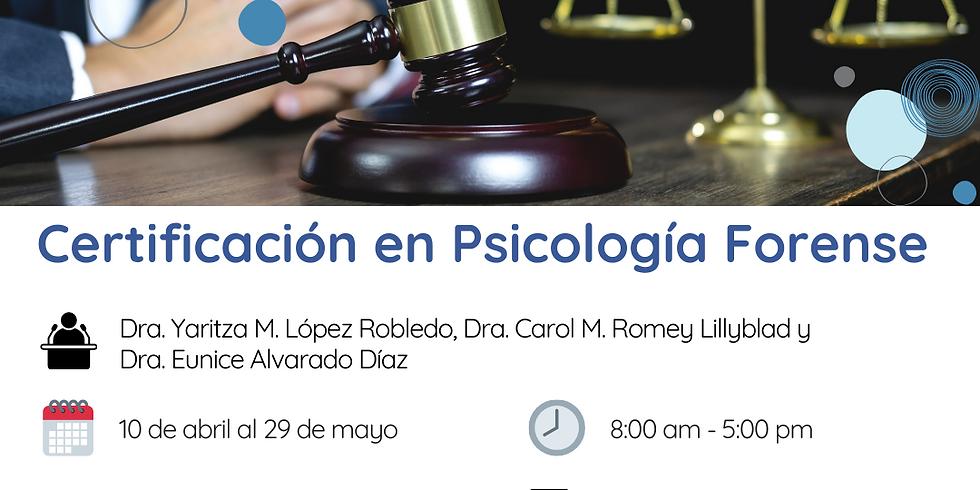 Certificación en Psicología Forense