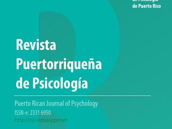 Revista Puertorriqueña de Psicología | Volumen 31 Número 2 (2020)