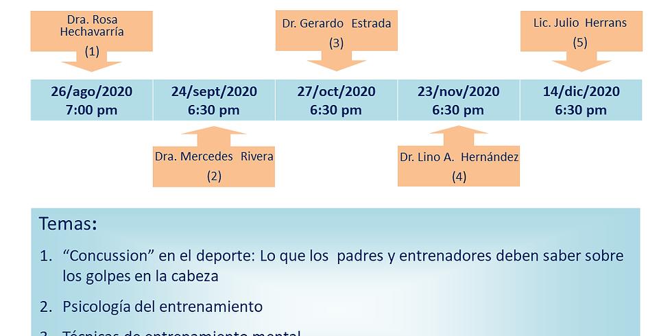 1er Jornada Virtual de Seminarios Web