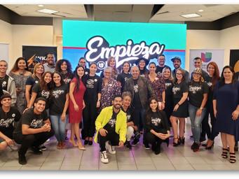 Talento y producciones de Univision PR se unen en la Campaña Empieza por ti