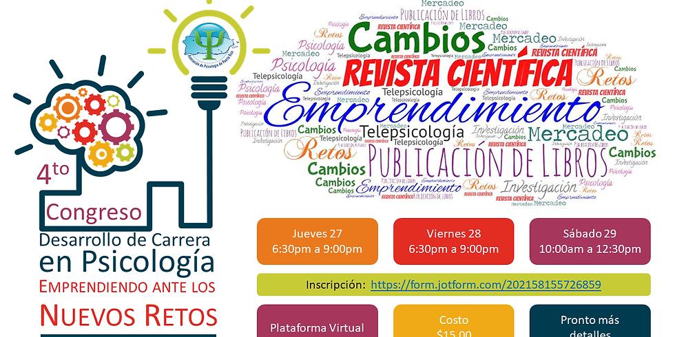 4to Congreso de Desarrollo de Carrera en Psicología