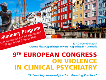 9th European Conference on violence in clinical psychiatry