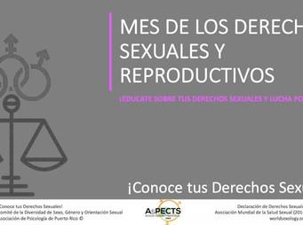Mes de los Derechos Sexuales y Reproductivos