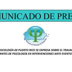 Trauma Psicológico y participación de estudiantes en intervenciones ante eventos de desastres