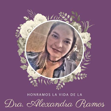 Nota de Duelo | Dra. Alexandra Ramos Colón