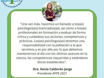 Promovemos las mejores prácticas de la profesión de la psicología