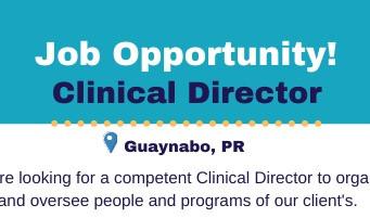 Oportunidad de empleo | Director/a Clínico