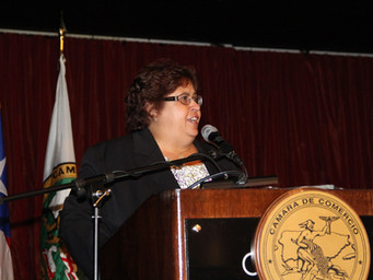 La presidenta electa da seminario en la Cámara de Comercio de Puerto Rico
