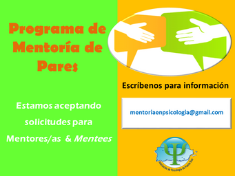 Convocatoria: Buscamos mentores/as y mentees para nuestro programa de mentoría
