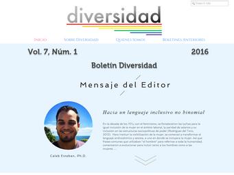 Boletín Diversidad Vol 7, Núm. 1